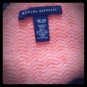 Wool/angora scarf